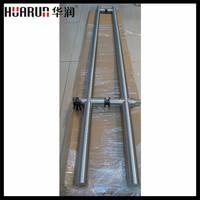 Factory supplying swing glass door lock with pull handle