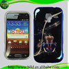 Fashion tpu+imd case skin cover cell phone housing for Samsung 8160