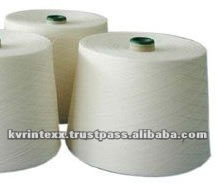 cotton viscose blended combed yarn