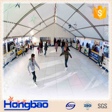 inexpensive cost HDPE ice rink barrier systems indoor and outdoor rinks, leisure rinks in China