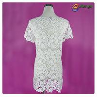 2015 summer garment wholesale fancy saree blouse back neck designs