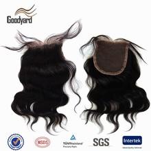 Queen remy brazilian body wave cheap human hair lace closure