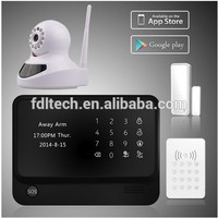 Smart GSM wifi alarm system with sms service support app control
