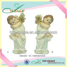de alta calidad de la resina pequeñas figuras de ángel