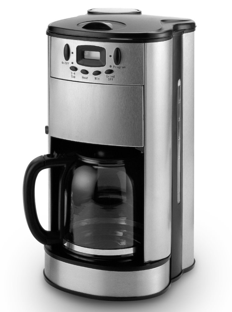Drip Coffee Maker With Grinder : Stainless Steel 10 Cup Drip Coffee Maker With Grinder,Ce,Gs Approved - Buy Portable Coffee Maker ...