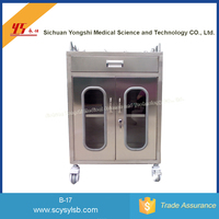 Medical Hospital Anethesia Resuscitation Nursing Trolley Cart on Sale