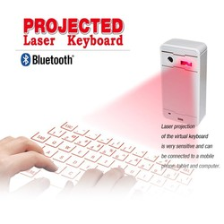 Hot selling! Infrared laser projection keyboard mini wireless bluetooth keyboard for iphone
