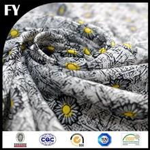 high quality daisy pattern baby print fabric cotton fabric