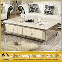 2015 Most fashionable reasonable mdf coffee table with drawer,fancy coffee table