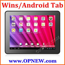 10 inch win8 Android 4.4 Quad Core Dual System tablet pc Intel 3735F 64bit processor IPS 1280*800 Capacitive screen Dual System