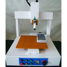 Programmable precision controlled 3 axis automatic desktop glue dispenser