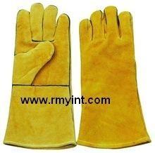 pakistani RMY 006 high quality working gloves long cuff