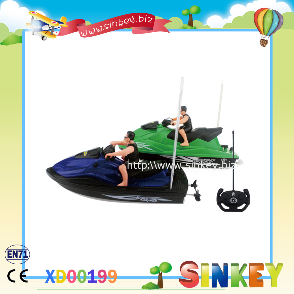 2015newest And Hot Sale Plastic Remote Controlled Boat Toy ...