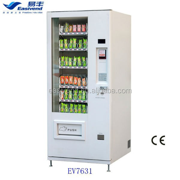 Combo Snack And Soft Drink Vending Machine