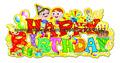 papel brillo de la fiesta de cumpleaños decoraciones suministro
