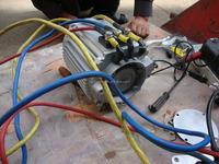 48V/60V/72V/96V brushless AC EV car motor Electric car motor electric vehicle motor patrol car motor electric golf car motor