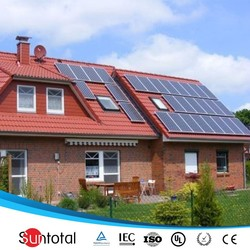 1kw 2kw 3kw ce solar panel with battery backup