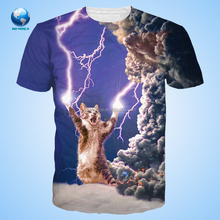 New Fashion Custom 3D Sublimation T-Shirt High Quality Retail Or Wholesale