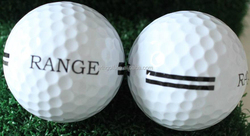 Hot sales practice golf ball with super classical 352 dimple