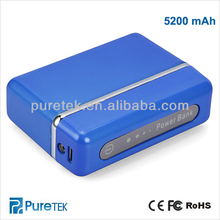 Portable Power Bank 5200mAH for Mobile Phone,iPhone,iPad,iPod