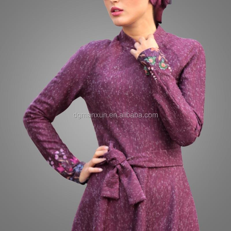2017 flower pattern abaya south indian sexy girls long dress picture new burqa designs in dubai pho (5).jpg