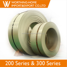Vietnam India Pakistan Market 2b 1mm Thickness Cold Roll Manufacturing Companies 304 201 Stainless Steel Strip