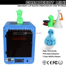 2015 RE,RoHS certificate 3d backpack createbot 3d printer 3d backpack abs plastic for 3d printer