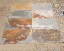 rusty pizarra suelo de pizarra natural