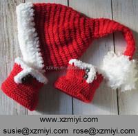 handmade baby crochet santa hat baby christmas cap