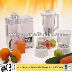 household appliance 4 in 1 as seen on tv juicer blender