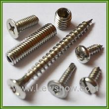 Stainless Steel Screws Round Washer Phil Self Drilling Screws, Socket Set Screws, Machine Screws Tapping Screws/Chipboard Screws