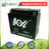top quality lifan motorcycle accessories 12v maintenance free battery
