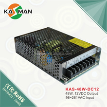 Security manufacturer kasman switch mode power supply DC48-12 series hot sales