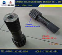 YTO/SINOMACH/LUOYANG PY180C-2/PY180D-2/PY220C-2/PY165C-2 motor grader gear wheel shaft for sale