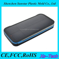 Solar battery charger 3d cell phone case for mobile phone accessory