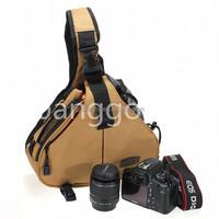 High Quality Shoulder Camera Bag Case diagonal Triangle Carry Case for Nikon for Sony DSLR for Canon 60D 5DMarkIII 200mm Lens