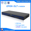 High Integration 4 SFP or SFP+ Uplink 4 PON Port 1U GEPON OLT FTTH OLT