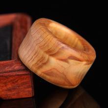Fashion men's high density wood ring