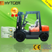 3 Ton Diesel Forklifts Paper Roll Clamps Attachments On Sale