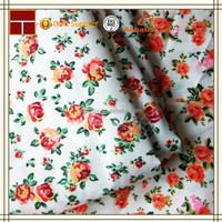 Alibaba express pure cotton printed bed sheet fabric made in China