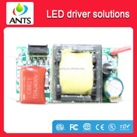 Isolated constant current AC90~265V DC12~16V 5~7*1W 300mA Bulb Light Led Driver