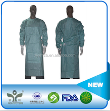 CE FDA NELSON approved patient sterile disposable surgical gown