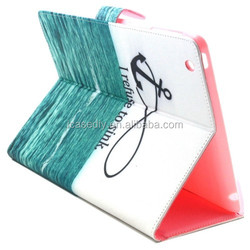 Letters Hang over the SeaPattern Horizontal Flip Smart Cover Leather Case for iPad 2