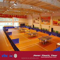 PVC Table Tennis Sports Court Flooring