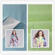 184T Taslon breathable waterproo nylon taslon fabric