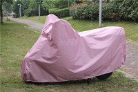 190t polyester coating silver three wheel motorcycle cover at factory price