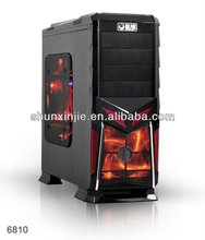New Black Steel Edition Gaming full tower Case