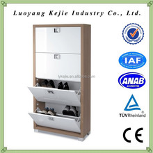 China Furniture Manufacturer metal tall shoe cabinet luxury shoe cabinet for sale
