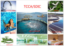 TCCA 90% water treatment chemical disinfection