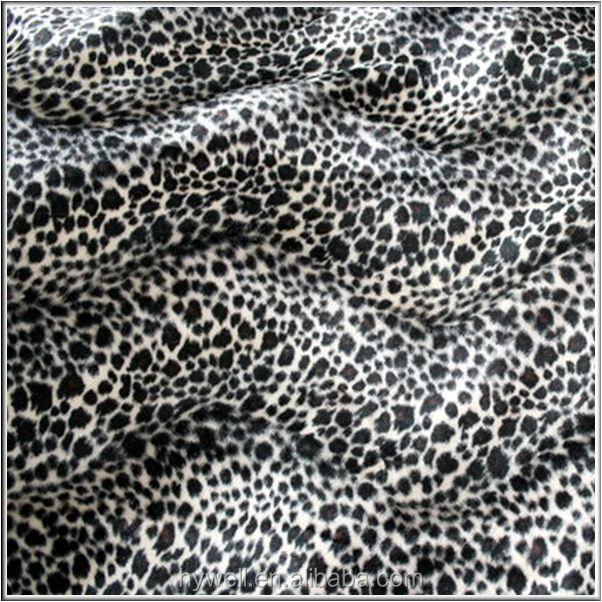 Leopard Print Velour Fabric Printed Velvet Buy Velour